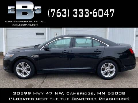 2015 Ford Taurus for sale at East Bradford Sales, Inc in Cambridge MN