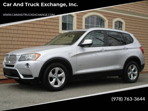 2011 BMW X3 for sale at Car and Truck Exchange, Inc. in Rowley MA