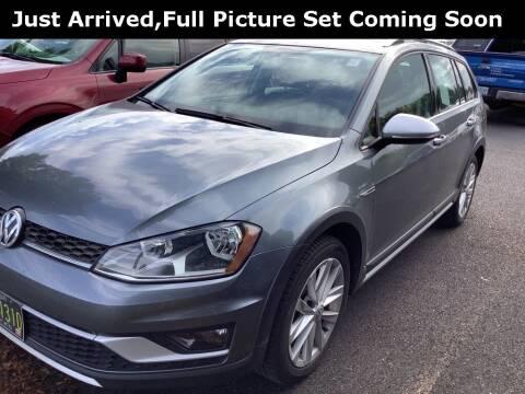 2017 Volkswagen Golf Alltrack for sale at Royal Moore Custom Finance in Hillsboro OR