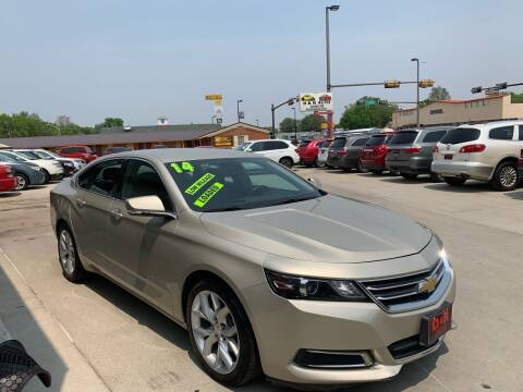 2014 Chevrolet Impala for sale at D & R Auto Sales in South Sioux City NE