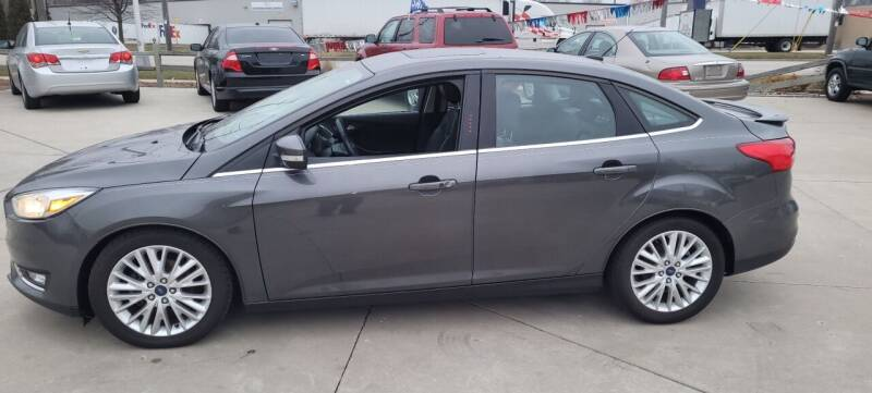 2015 Ford Focus for sale at Kenosha Auto Outlet LLC in Kenosha WI