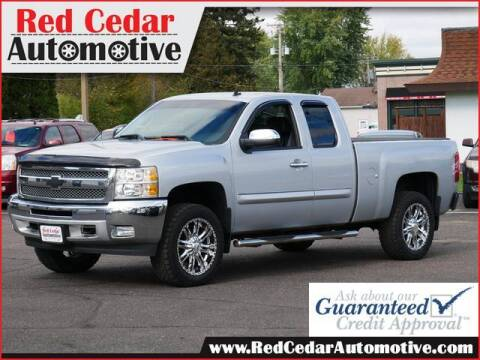 2013 Chevrolet Silverado 1500 for sale at Red Cedar Automotive in Menomonie WI