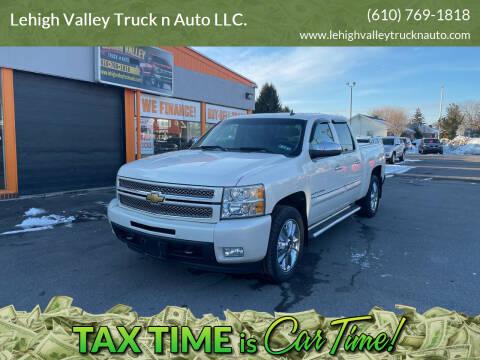 2012 Chevrolet Silverado 1500 for sale at Lehigh Valley Truck n Auto LLC. in Schnecksville PA