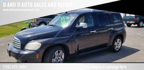 2011 Chevrolet HHR for sale at D AND D AUTO SALES AND REPAIR in Marion WI