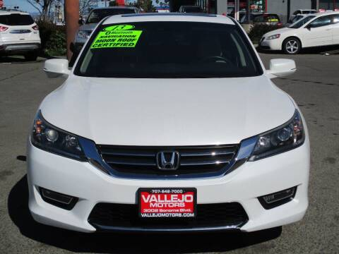 2013 Honda Accord for sale at Vallejo Motors in Vallejo CA