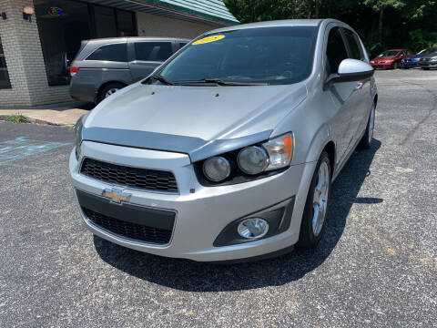 2015 Chevrolet Sonic for sale at Diana Rico LLC in Dalton GA