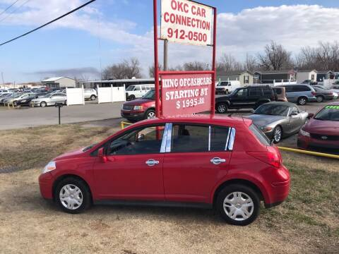 2012 Nissan Versa for sale at OKC CAR CONNECTION in Oklahoma City OK