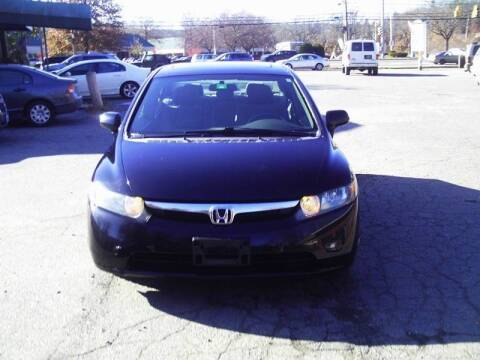 2008 Honda Civic for sale at ALAN SCOTT AUTO REPAIR in Brattleboro VT