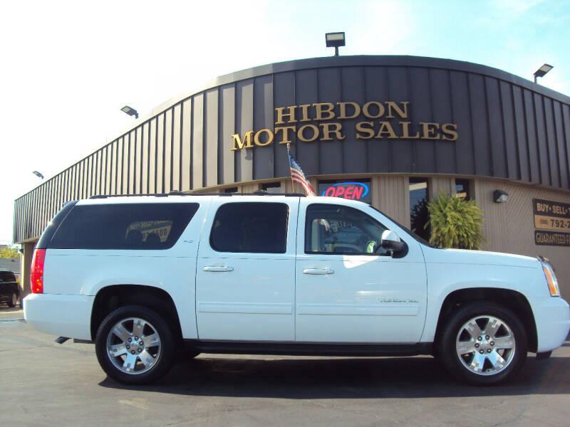 2013 GMC Yukon XL for sale at Hibdon Motor Sales in Clinton Township MI