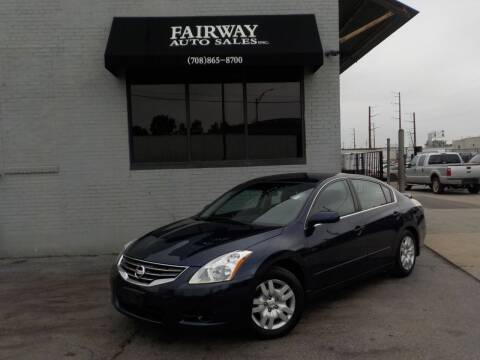 2010 Nissan Altima for sale at FAIRWAY AUTO SALES, INC. in Melrose Park IL
