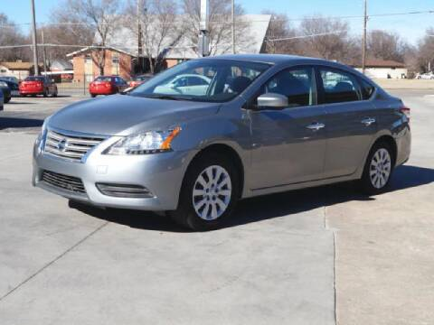 2013 Nissan Sentra for sale at Kansas Auto Sales in Wichita KS