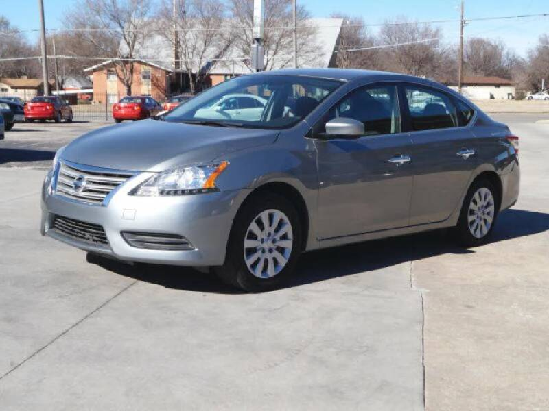 2013 Nissan Sentra for sale at Kansas Auto Sales in Wichita KS