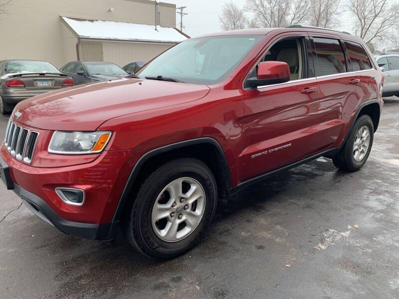 2014 Jeep Grand Cherokee for sale at MIDWEST CAR SEARCH in Fridley MN