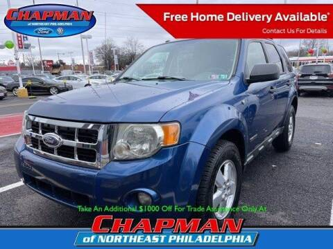 2008 Ford Escape for sale at CHAPMAN FORD NORTHEAST PHILADELPHIA in Philadelphia PA
