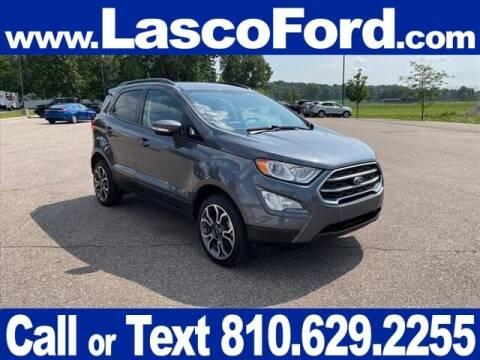 2018 Ford EcoSport for sale at LASCO FORD in Fenton MI
