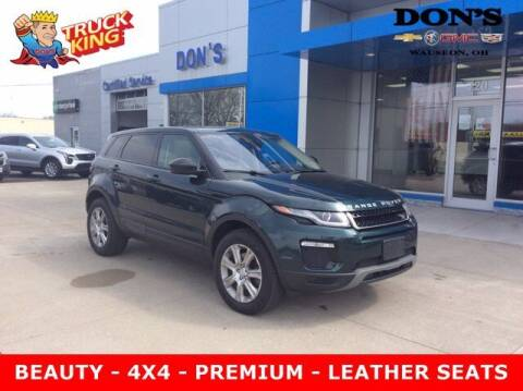 2017 Land Rover Range Rover Evoque for sale at DON'S CHEVY, BUICK-GMC & CADILLAC in Wauseon OH
