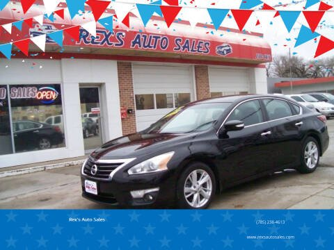 2015 Nissan Altima for sale at Rex's Auto Sales in Junction City KS