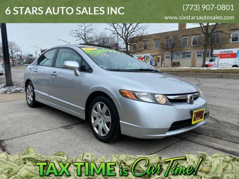 2006 Honda Civic for sale at 6 STARS AUTO SALES INC in Chicago IL