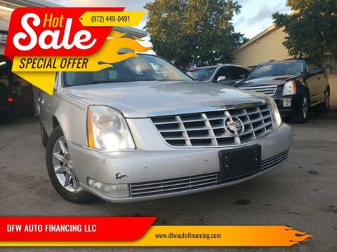 2011 Cadillac DTS for sale at Bad Credit Call Fadi in Dallas TX