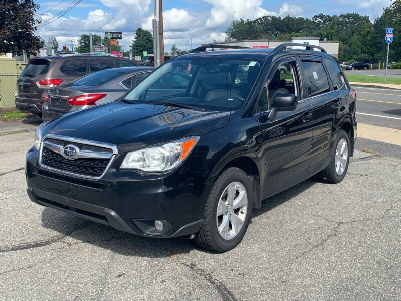 2016 Subaru Forester for sale at Ludlow Auto Sales in Ludlow MA
