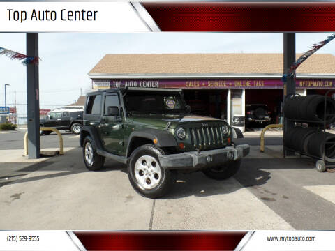 2008 Jeep Wrangler for sale at Top Auto Center in Quakertown PA