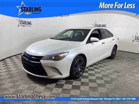 2016 Toyota Camry for sale at Pedro @ Starling Chevrolet in Orlando FL