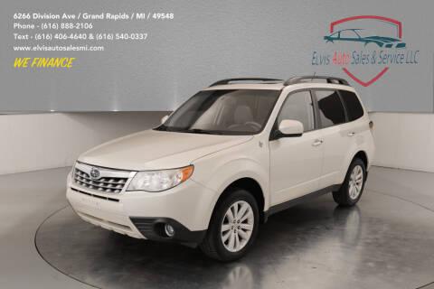 2011 Subaru Forester for sale at Elvis Auto Sales LLC in Grand Rapids MI