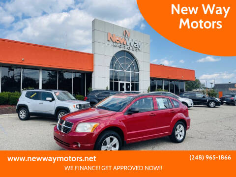 2012 Dodge Caliber for sale at New Way Motors in Ferndale MI