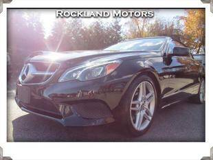 2014 Mercedes-Benz E-Class for sale at Rockland Automall - Rockland Motors in West Nyack NY