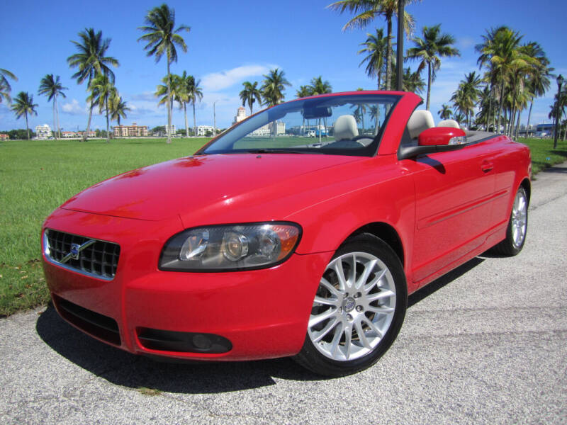 2008 Volvo C70 for sale at FLORIDACARSTOGO in West Palm Beach FL