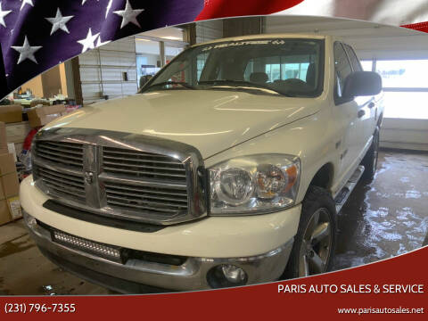 2008 Dodge Ram Pickup 1500 for sale at Paris Auto Sales & Service in Big Rapids MI
