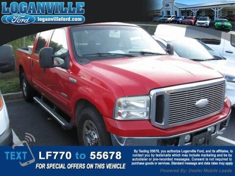 2006 Ford F-250 Super Duty for sale at Loganville Quick Lane and Tire Center in Loganville GA