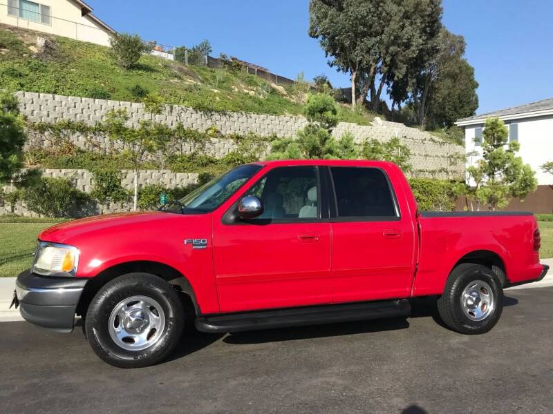 2001 Ford F-150 for sale at CALIFORNIA AUTO GROUP in San Diego CA