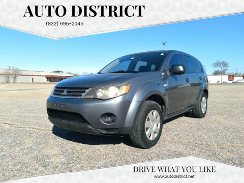 2008 Mitsubishi Outlander for sale at Auto District in Baytown TX