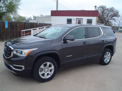 2017 GMC Acadia for sale at World of Wheels Autoplex in Hays KS