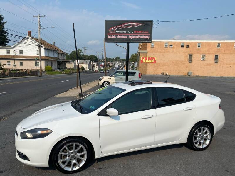 2013 Dodge Dart for sale at Fineline Auto Group LLC in Harrisburg PA