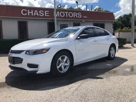2018 Chevrolet Malibu for sale at Chase Motors Inc in Stafford TX