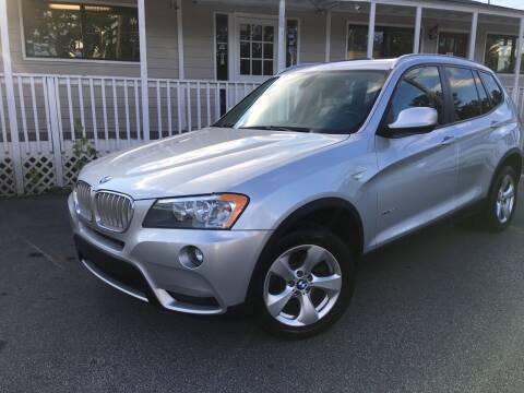 2012 BMW X3 for sale at Georgia Car Shop in Marietta GA