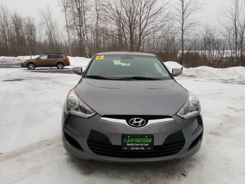 2012 Hyundai Veloster for sale at L & R Motors in Greene ME