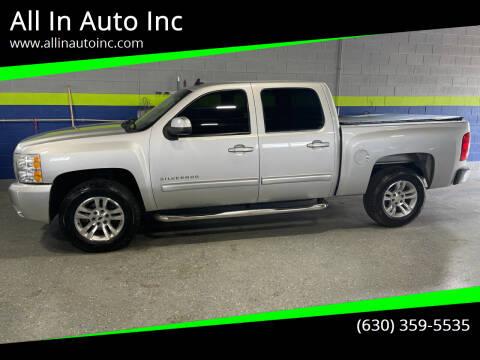 2011 Chevrolet Silverado 1500 for sale at All In Auto Inc in Addison IL