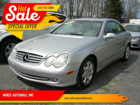 2003 Mercedes-Benz CLK for sale at MIKES AUTOMALL INC in Ingleside IL