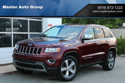 2016 Jeep Grand Cherokee for sale at Master Auto Group in Raleigh NC