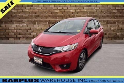 2015 Honda Fit for sale at Karplus Warehouse in Pacoima CA
