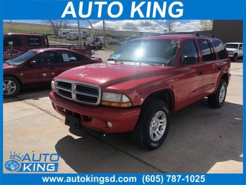 2003 Dodge Durango for sale at Auto King in Rapid City SD