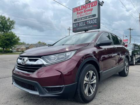 2019 Honda CR-V for sale at Unlimited Auto Group in West Chester OH