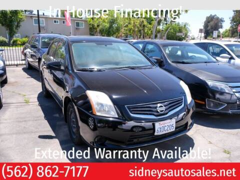2011 Nissan Sentra for sale at Sidney Auto Sales in Downey CA