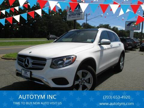 2017 Mercedes-Benz GLC for sale at AUTOTYM INC in Fredericksburg VA