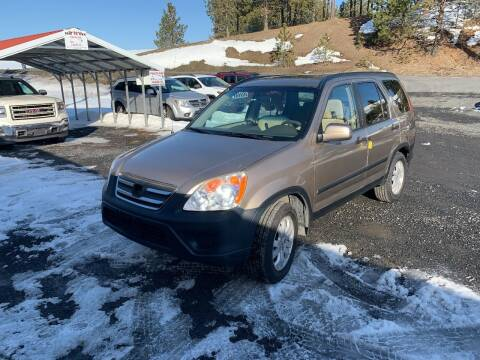 2006 Honda CR-V for sale at CARLSON'S USED CARS in Troy ID