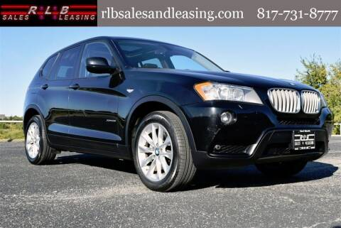 2014 BMW X3 for sale at RLB Sales and Leasing in Fort Worth TX