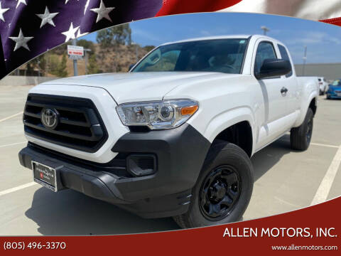 2021 Toyota Tacoma for sale at Allen Motors, Inc. in Thousand Oaks CA